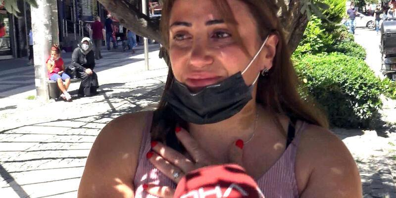 Son dakika... Kadın cinayetleri protestosunu izleyen kadının gözyaşları