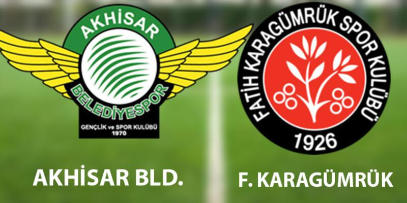 Akhisar Fatih Karagümrük maçı hangi kanalda, ne zaman, saat kaçta canlı izlenecek?