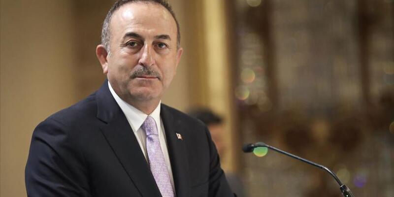 """Son dakika... Çavuşoğlu'ndan Azerbaycanlı gençlere destek mesajı: """"Can gardaşlarımıza canımız feda"""""""