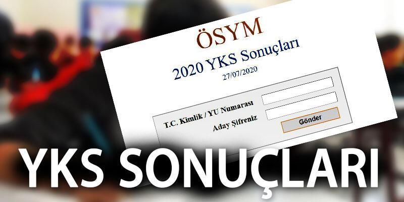 ÖSYM sonuç sorgulama: YKS 2020 sonuçları TYT ve AYT sınav sonucu sayfası