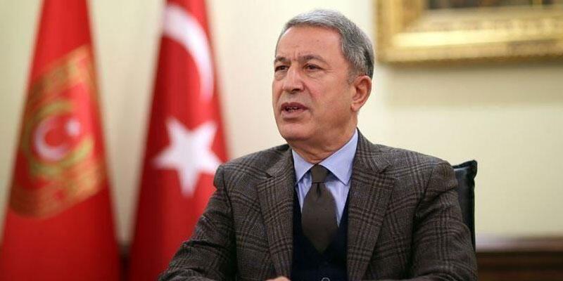 Bakan Akar, Mersin'de şehit düşen askerler için başsağlığı mesajı yayımladı