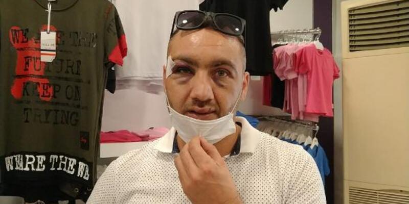 Son dakika... Maske uyarısı yapan mağaza müdürüne tekme- tokat saldırı
