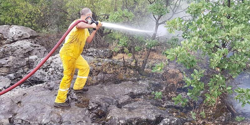 Diyarbakır'da örtü yangını! Ekipler seferber oldu