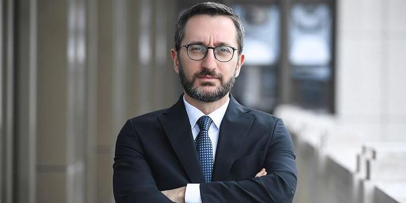 İletişim Başkanı Fahrettin Altun'dan Yunanistan'a Yunanca mesaj