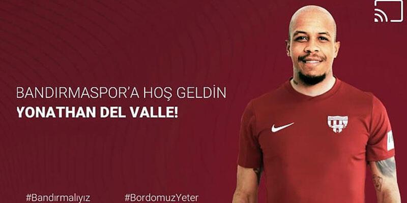Bandırmaspor Del Valle'yi transfer etti