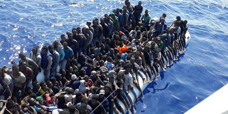 Malta'da akıntıdan kurtarılan 65 göçmenin koronavirüs testipozitif çıktı