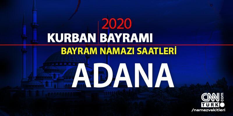 Adana bayram namazı vakti saat kaçta? Diyanet Adana bayram namazı saati 2020