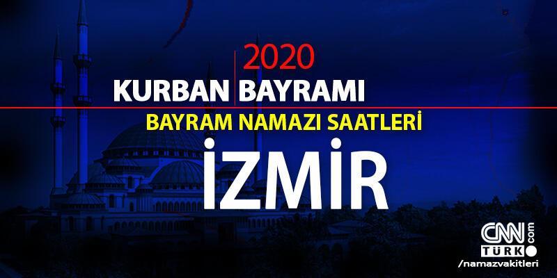 İzmir bayram namazı vakti ne zaman, saat kaçta? İzmir Kurban Bayramı namazı saati 2020