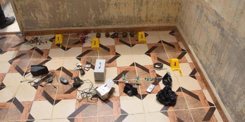 Tel Abyad'da bombalar ele geçirildi