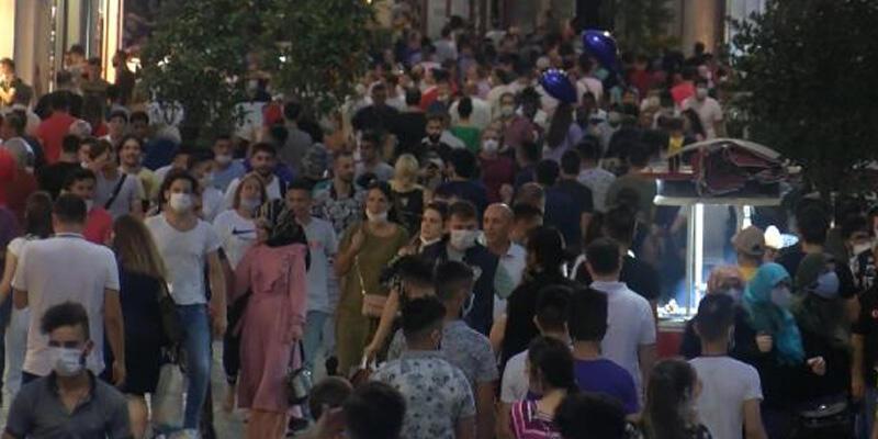 İstiklal Caddesi'nde korkutan görüntü