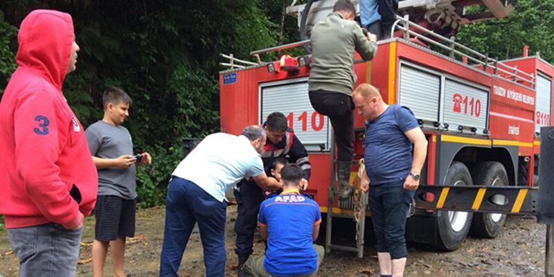 Selde mahsur kalan 21 kişi kurtarıldı