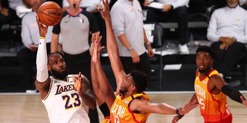 Lakers konferans liderliğini garantiledi
