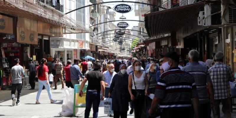 Son dakika... Gaziantep sokakları, bayram sonrası yine kalabalık