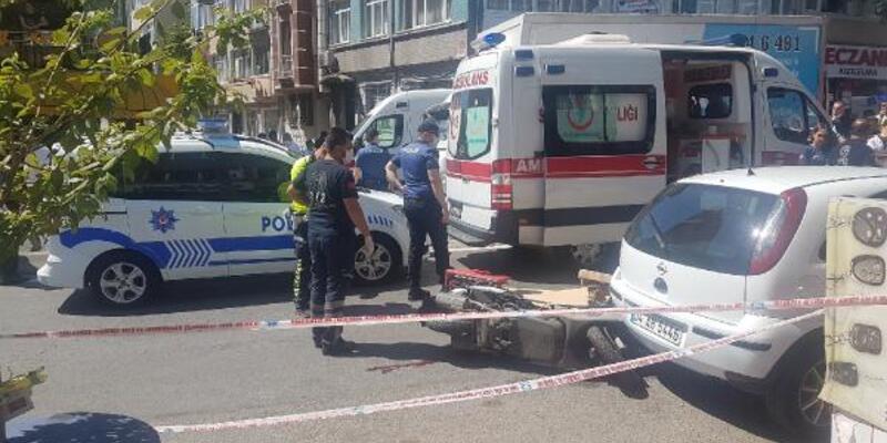 Son dakika... Fatih'te itfaiye aracının çarptığı 18 yaşındaki kurye öldü