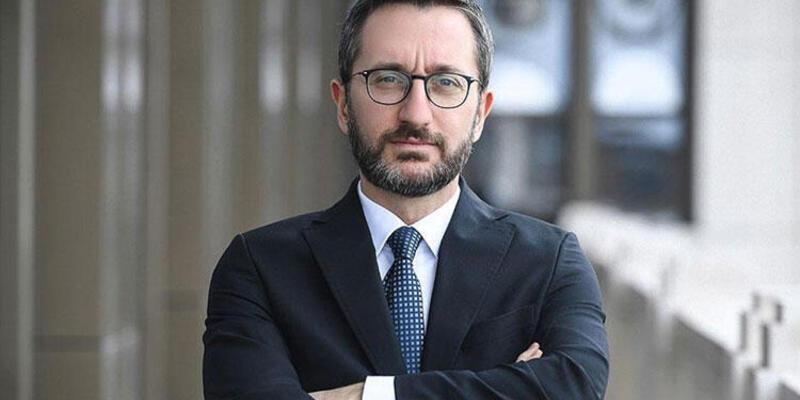 """İletişim Başkanı Altun: """"Lübnanlı kardeşlerimizin yanındayız"""""""