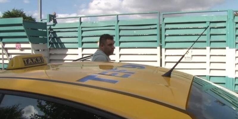 Son dakika... Maskesiz ticari taksiye binen yolcuya ceza