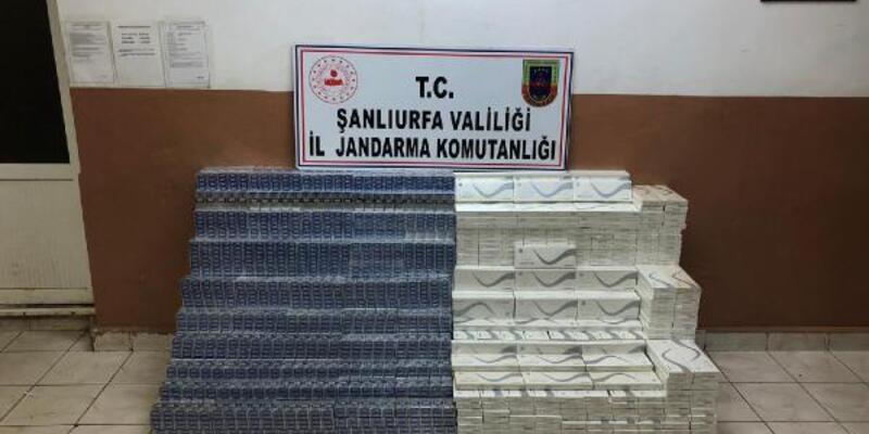 Son dakika... Kamyonda 28 bin paket kaçak sigara ele geçirildi