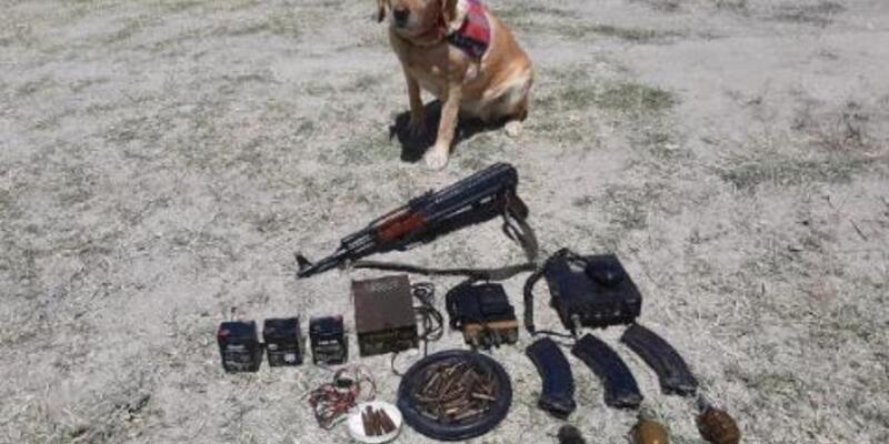 Son dakika... Van'da PKK'ya ait silah ve el bombası ele geçirildi