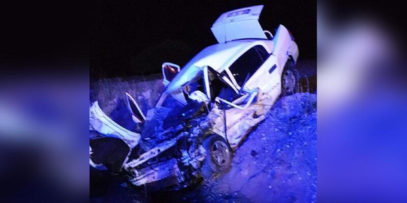 Aksaray'da korkunç kaza! 2 ölü, 4 yaralı