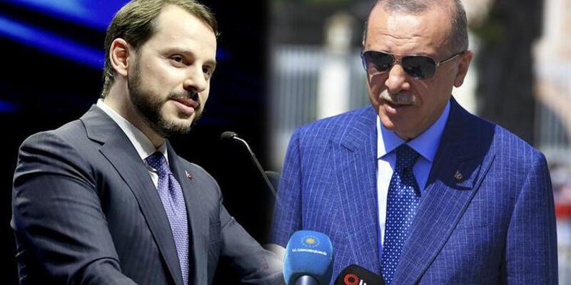 Hazine ve Maliye Bakanı Berat Albayrak'a destek var