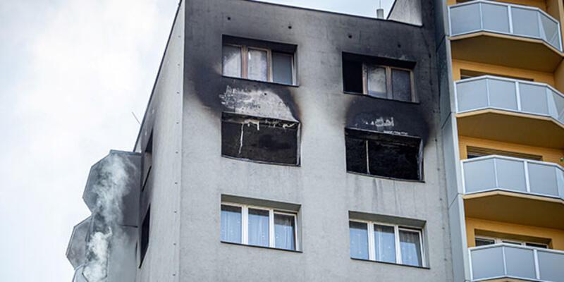 Benzin dökerek ateşe verdi! 'Ölüm apartmanı'