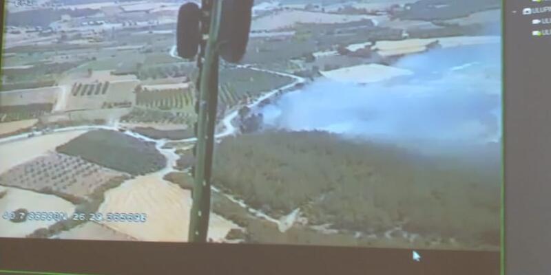 Son dakika... Çanakkale'de, tarım arazisinde yangın