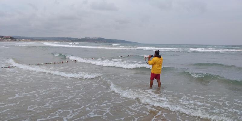 Son dakika... Şile'de denize girmek yasaklandı