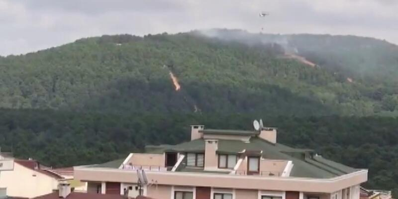 Son dakika... Kartal Aydos Ormanı'nda yangın