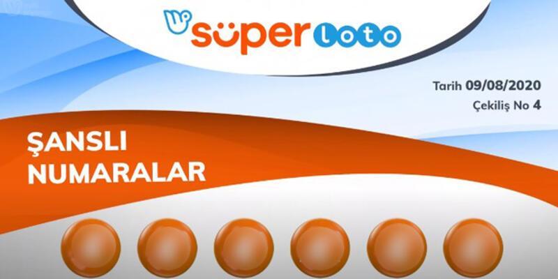 Süper Loto sonuçları 9 Ağustos 2020... Milli Piyango Online Süper Loto sonucu