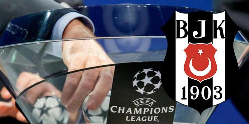 Son dakika... Beşiktaş'ın Şampiyonlar Ligi'ndeki rakibi belli oldu!