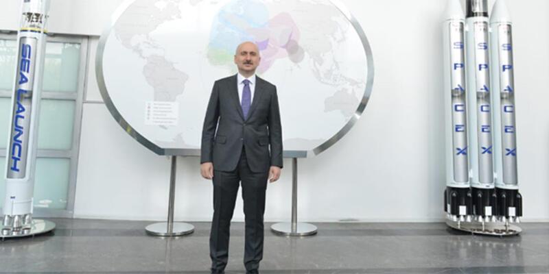 Bakan Karaismailoğlu'ndan Türkiye'nin uzay çalışmalarına destek mesajı