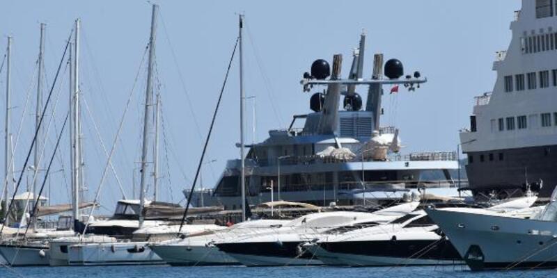 Son dakika haberleri... Rus milyarderin lüks yatı, Marmaris'e 1,5 milyon lira kazandırdı