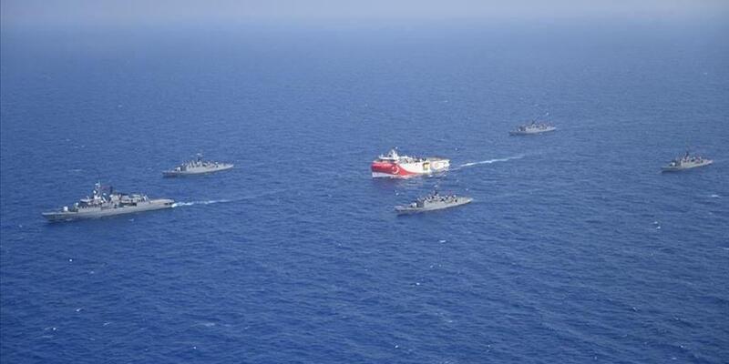 Son dakika... Güney Kıbrıs'ta Oruç Reis paniği: Fransız savaş uçakları Doğu Akdeniz'de uçtu