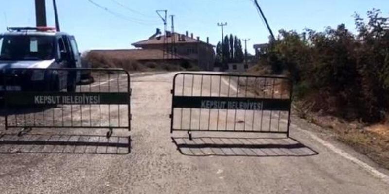 Balıkesir'de bir mahalle karantinaya alındı