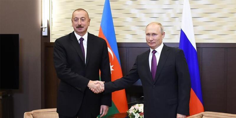 Putin ve Aliyev, Azerbaycan-Ermenistan sınırındaki durumu görüştü