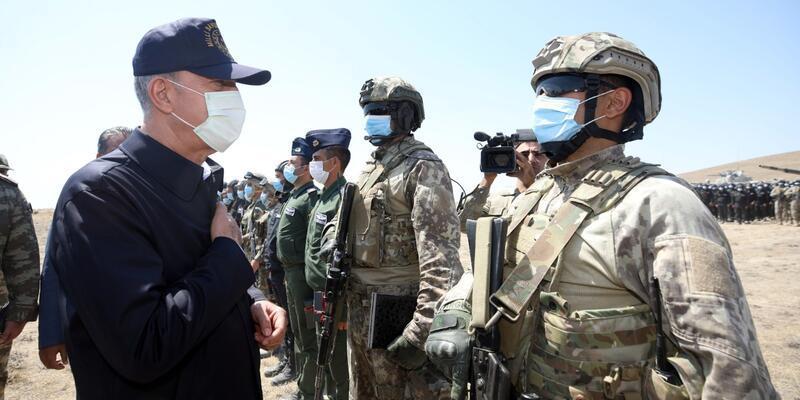 """Son dakika... Bakan Akar: """"Ermenistan'a karşı Azerbaycan'ın yanındayız"""""""