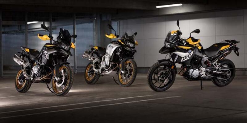 BMW motosikletlerde 40'ıncı yıla özel versiyonlar üretildi