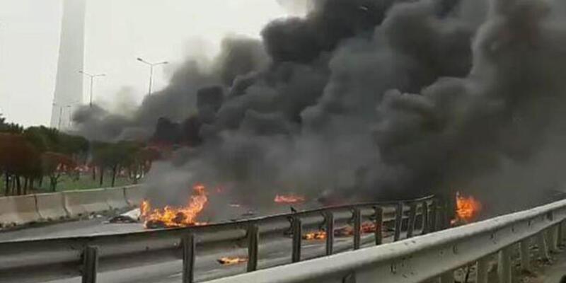 İstanbul Beylikdüzü'nde 2017'de yaşanan helikopter kazasının raporu tamamlandı