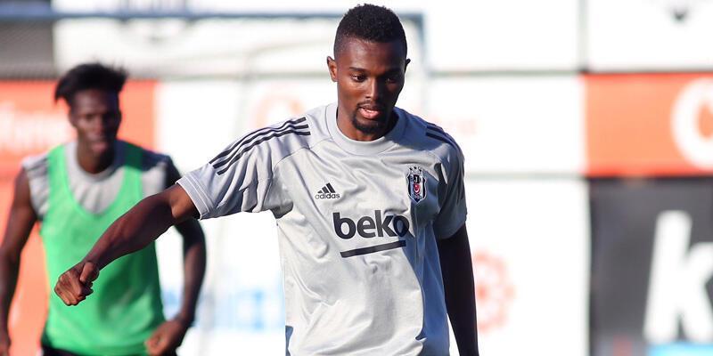 Mensah, Beşiktaş'la ilk antrenmanına çıktı