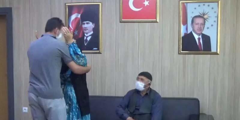 Son dakika... İkna yoluyla teslim olan PKK'lı, ailesiyle buluştu