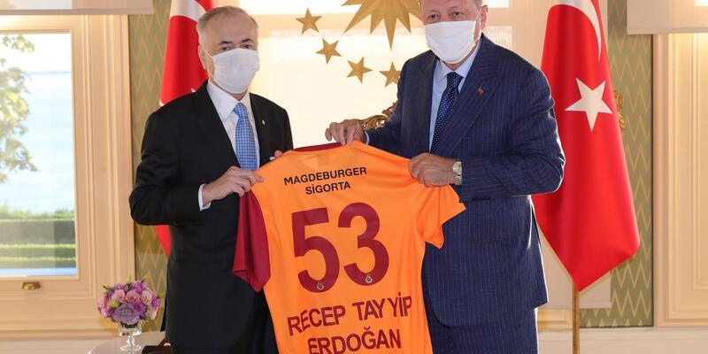 Son dakika... Cumhurbaşkanı Erdoğan, Mustafa Cengiz'i kabul etti