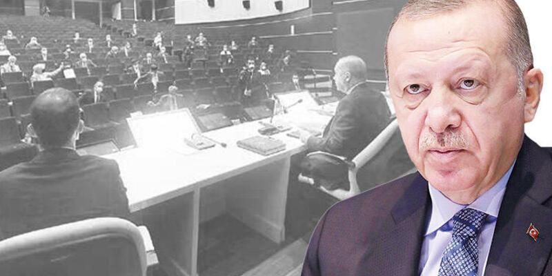 Cumhurbaşkanı Erdoğan'dan kurmaylarına uyarı: Konuştuklarımız aramızda kalsın