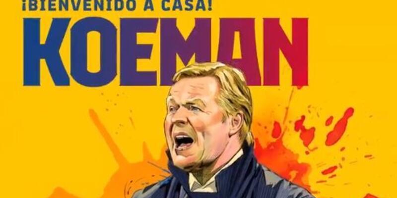 Son dakika! Barcelona'da yeni teknik direktör Koeman oldu!