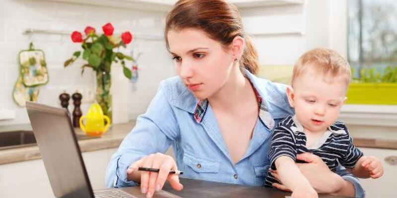 Koronavirüs salgını anneleri dijitalleştirdi; sepeti bebek bezi doldurdu