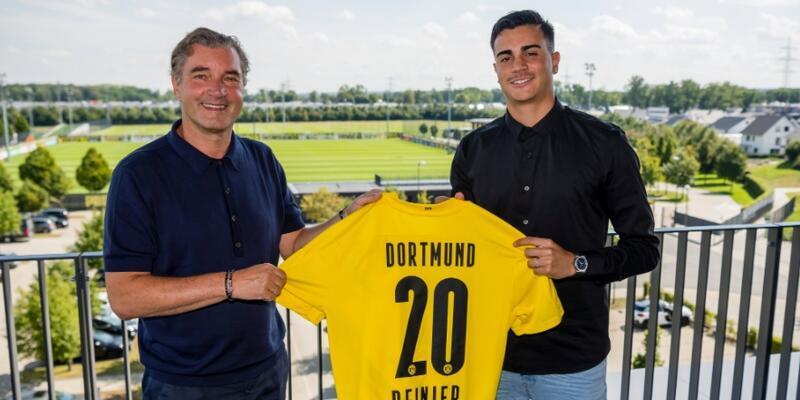 Dortmund Reinier'i iki yıllığına kiraladı