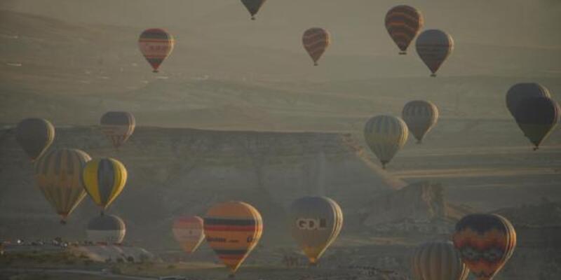 Kapadokya'da balon uçuşları 22 Ağustos'ta başlıyor