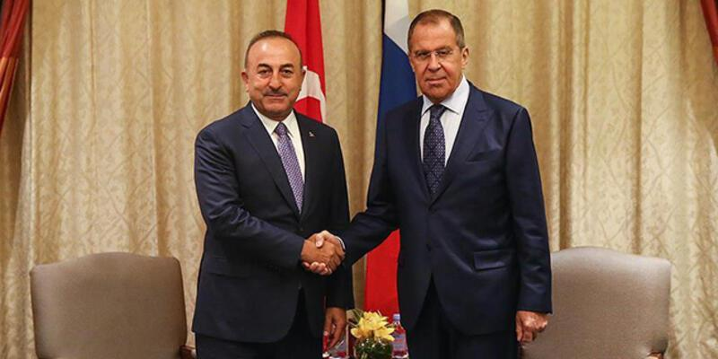Son dakika... Çavuşoğlu, Rus mevkidaşı Lavrov ile görüştü