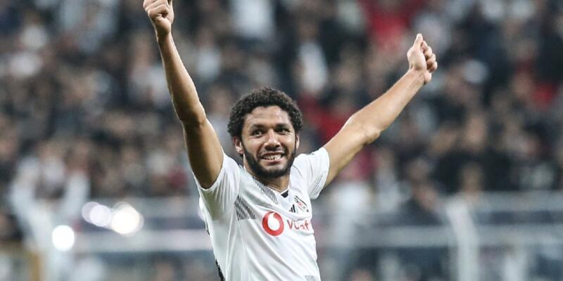 Elneny Beşiktaş'a veda etti