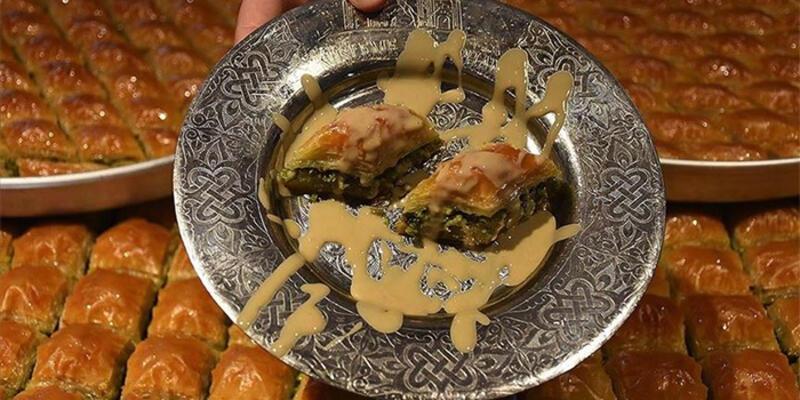 Gastronomi kentinin yeni lezzeti 'tahinli baklava'