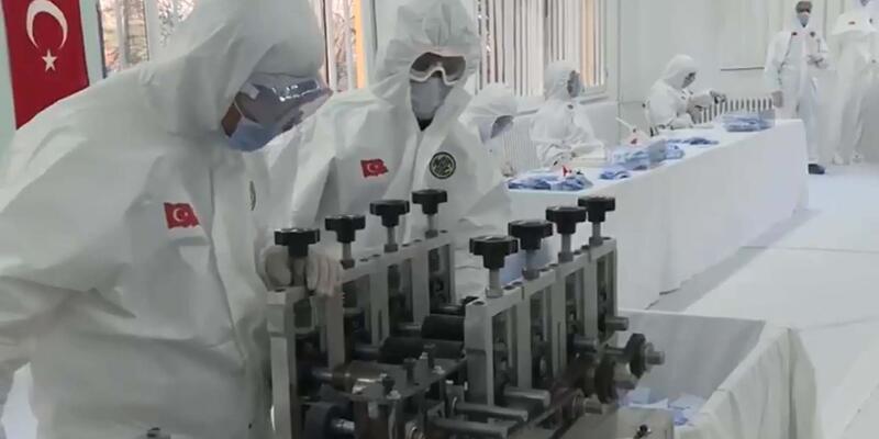 Son dakika... MSB: MKEK ve Dikimevlerimizde üretilen maske sayısı 80 milyonu geçti